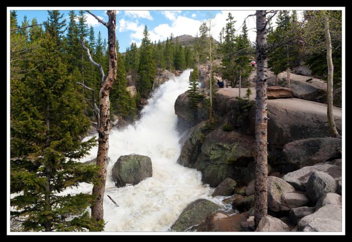 2. Alberta Falls