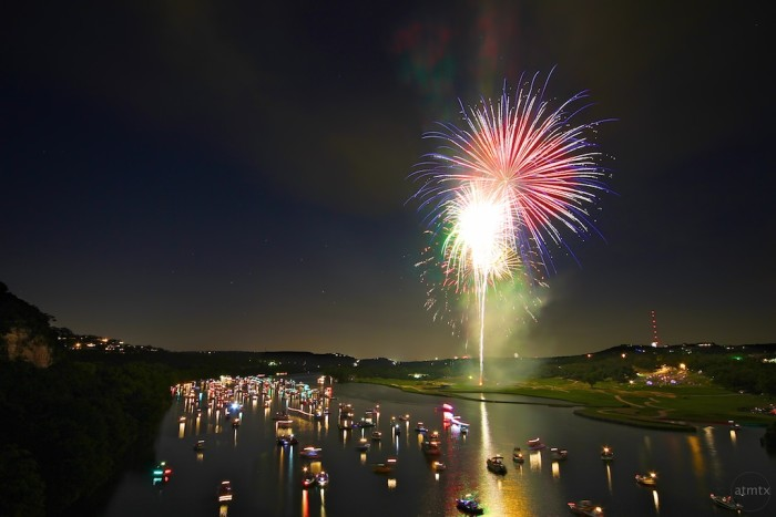 15. The incredible fireworks show on Independence Day at Lake Travis and Zilker Park.