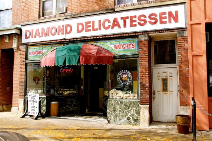 5. Diamond Deli (Akron)