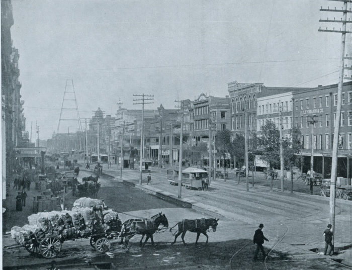 2) Canal St. New Orleans, 1910