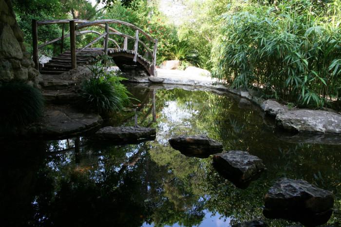 10. Take a moment to get zen at Zilker Botanical Garden.