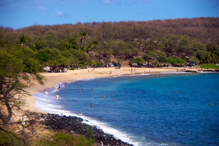 10. Hulopo'e Beach, Hawaii
