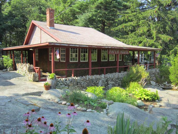 6. The Paper House, Massachusetts