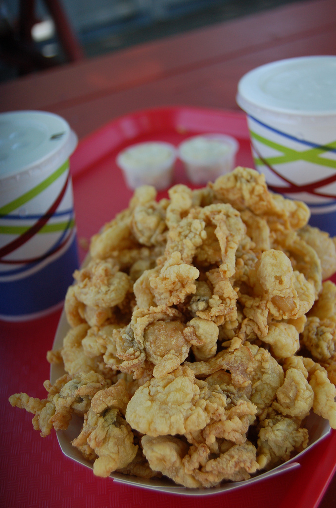 4. Grab a box of fried deliciousness at the Clam Box in Ipswich.