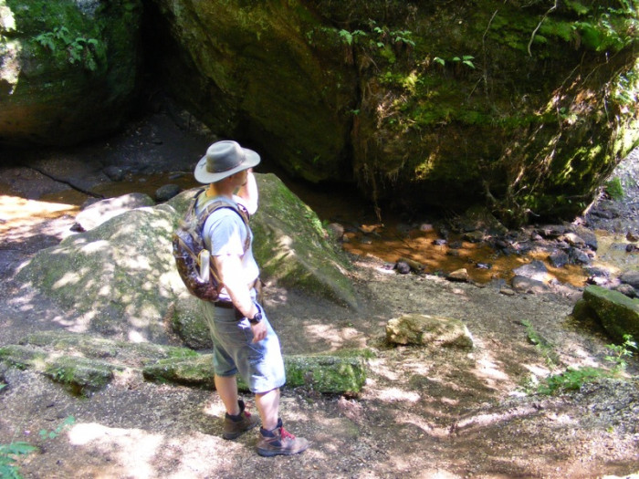 1. Cascade Falls Trail (Nelson Kennedy Ledges State Park)