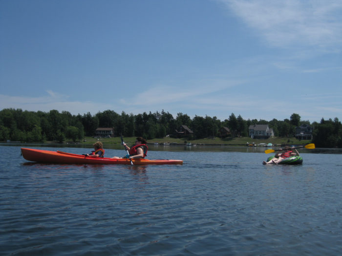 16.  Paddle a canoe, kayak or tube.
