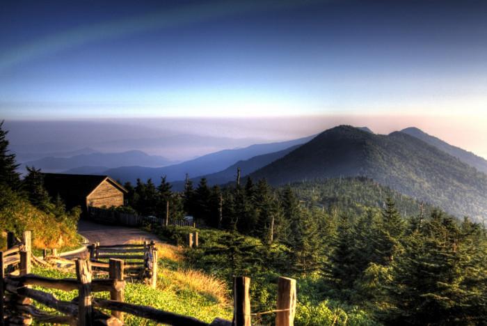 15. Mt. Mitchell, North Carolina