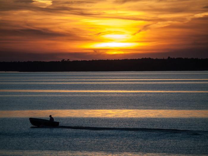 Sunset, Rainy Lake