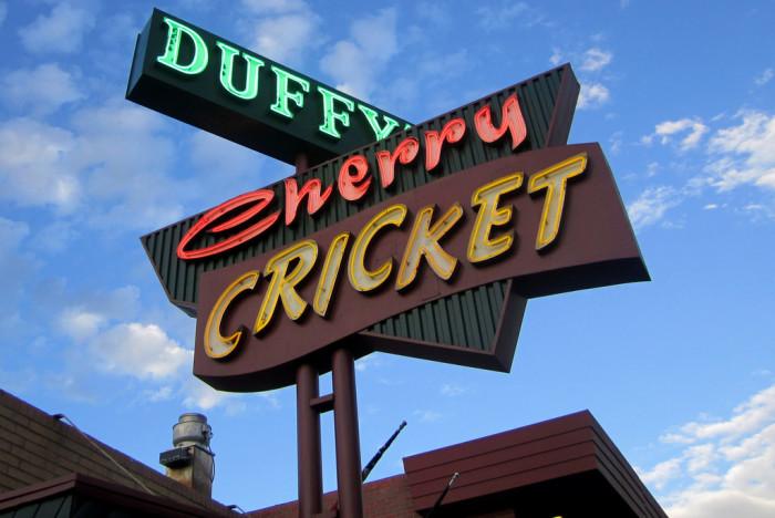 9. The Cherry Cricket