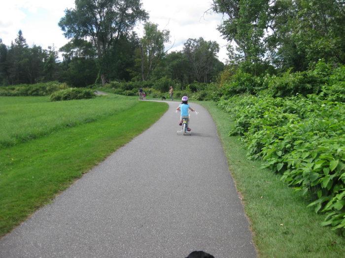 2.  Hop on a recreation path.
