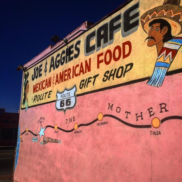 4.  Joe and Aggie's, Holbrook, AZ