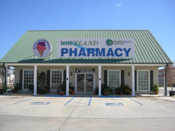 4. Waveland Pharmacy and Old Fashion Soda Fountain, Waveland
