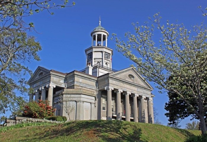 5. The Old Warren County Courthouse Museum, Vicksburg