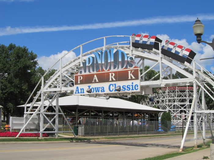 5. Catch your thrills at old-time amusement park, Arnold's Park.