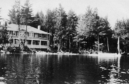 Although styles have changed, lake houses haven't changed at all. In fact, this one probably looks largely the same.