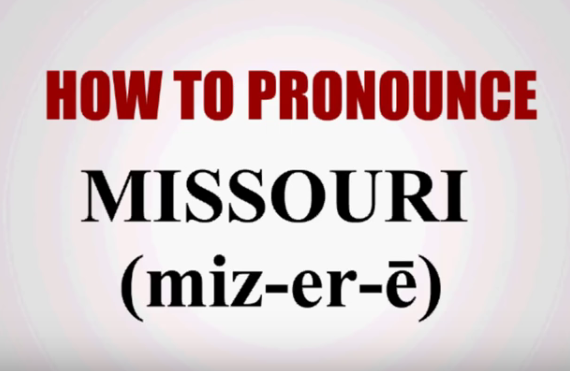 5.Not even Missouri natives can agree on its pronunciation.