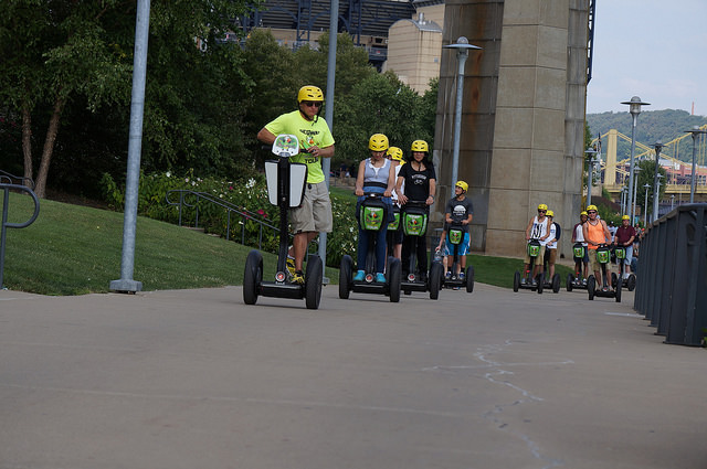 5. See the city by segway.