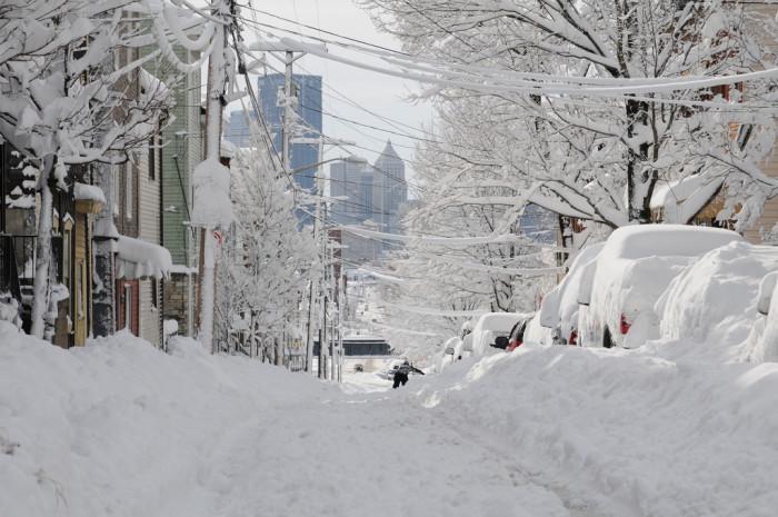 5. Feverishly prepare for snow.