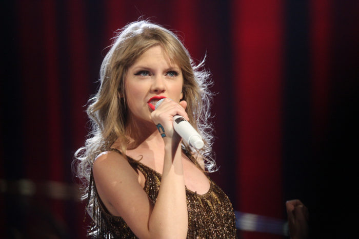 5. Have you ever seen Taylor Swift?