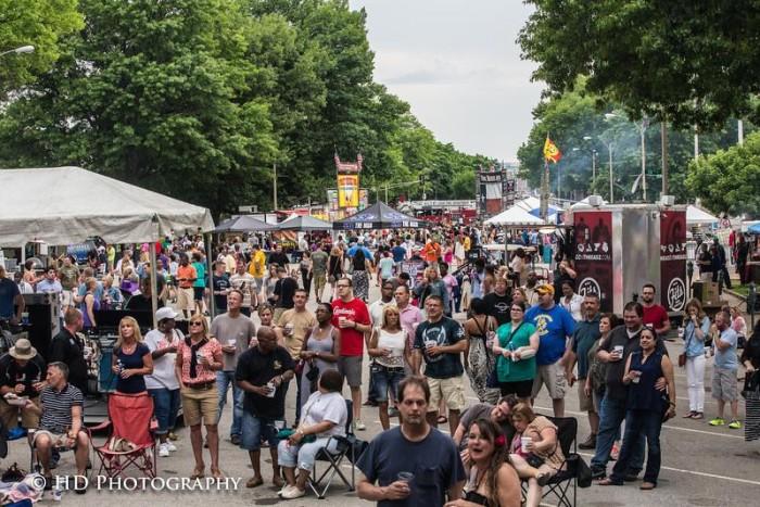 5.  St. Louis Ribfest, St. Louis
