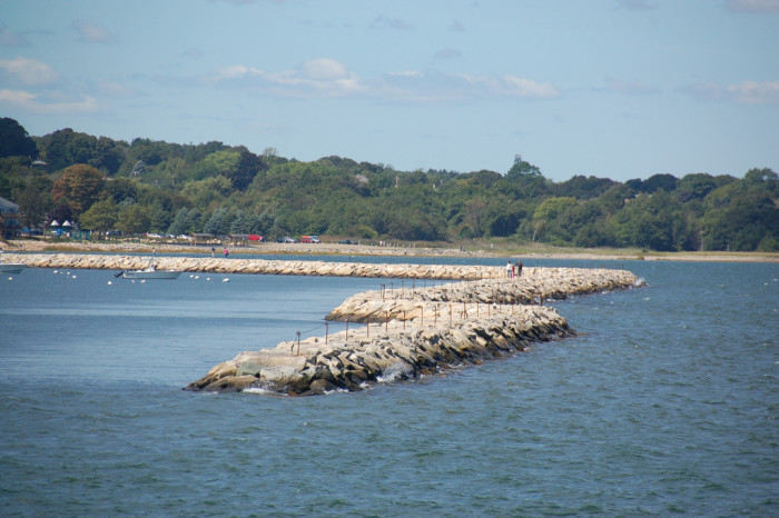 3. Plymouth Harbor Jetty, Plymouth