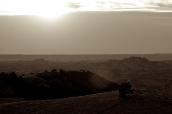8. Possibly a shot taken on top of Buck Hill, or is it the dusty shot of some far away moon's surface?