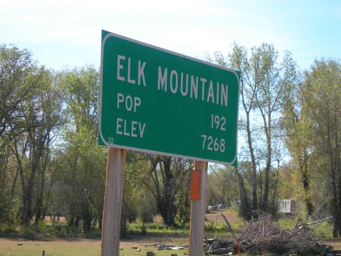 7. Elk Mountain