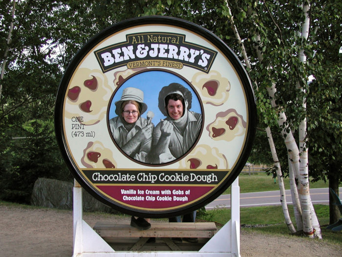 12.  Enjoy a cone at the Ben & Jerry's factory in Waterbury.