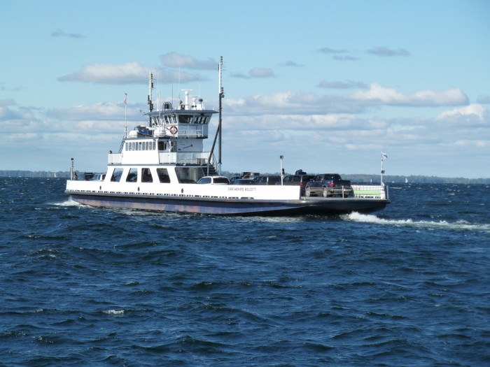 Take the Lake Champlain Ferry!
