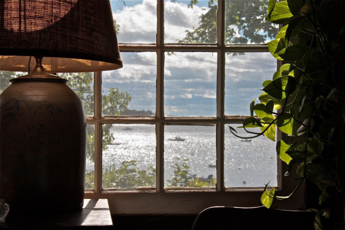 16. Because a water view from a small home is never taken for granted.
