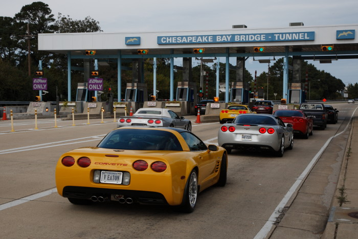 8. Toll booths.