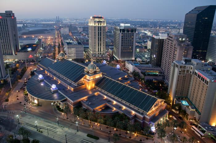 8) Aerial View of Harrah's Casino
