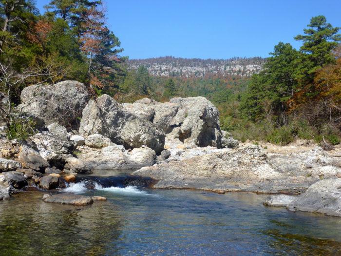 7. Any creek during flash flooding season