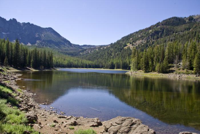 7.  Strawberry Lake
