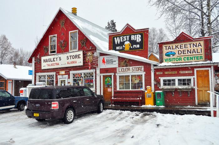 6. Talkeetna, Alaska