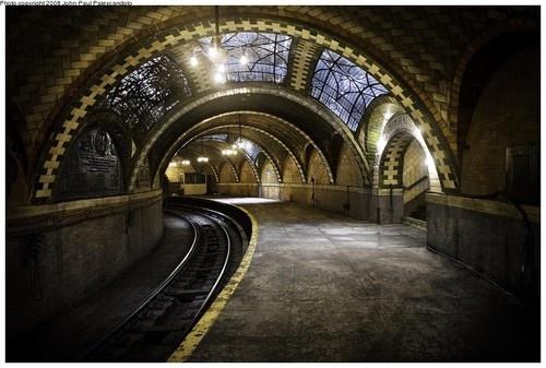 10. City Hall Subway Station, New York
