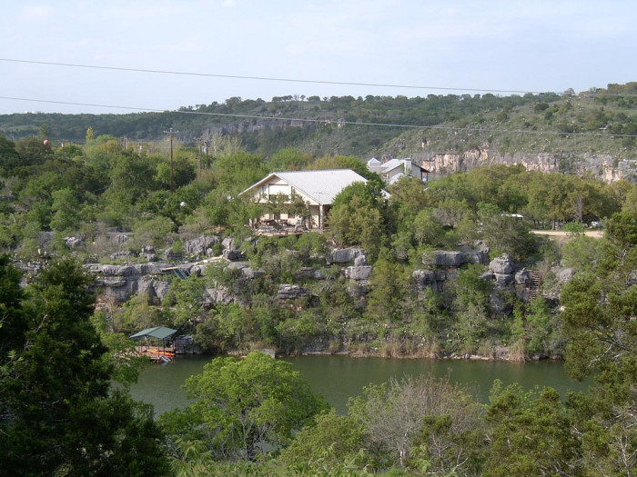 9. Lake Marble Falls is a great place for the family to get into some fun lake activities!