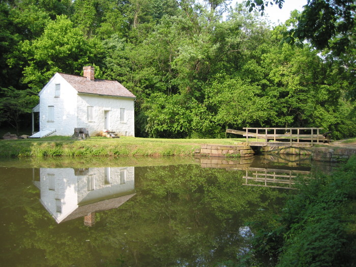 2. The C & O Canal could absolutely be a filming spot for a period piece.