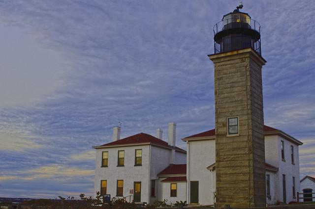 8. Beavertail Lighthouse, Jamestown