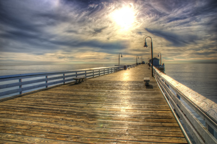 14. That gorgeous solid wood pier at San Clemente looks so inviting. Wanna take a stroll?