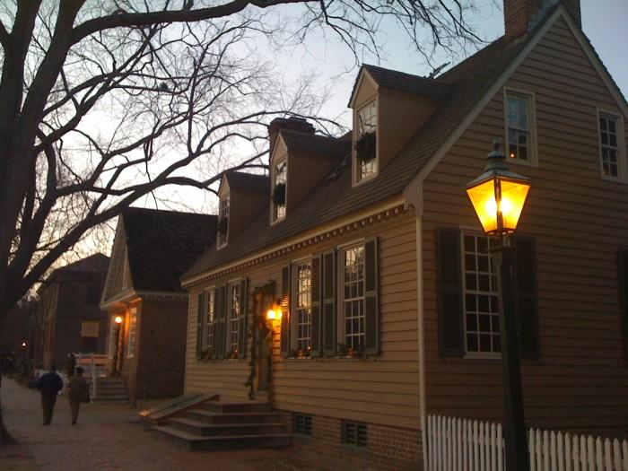 7. Colonial Williamsburg spans 301 acres.
