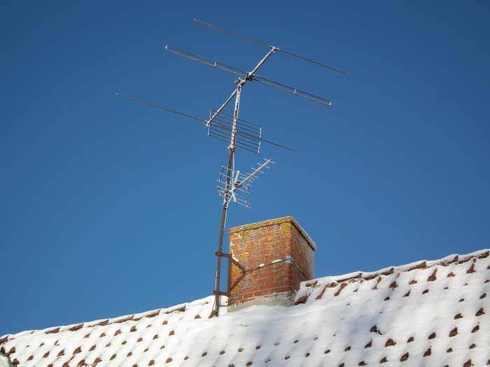 9. In Columbia, you can not have a antenna exposed outside of your house yet you can have a 25' satellite dish.