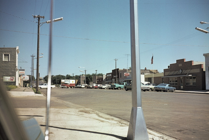 7. Downtown Flasher, ND - 1970