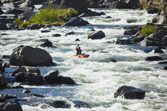 14. Go kayaking down the Truckee River.