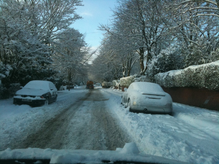 8. We actually hate driving in the snow as much as anyone else. We're just better at it.