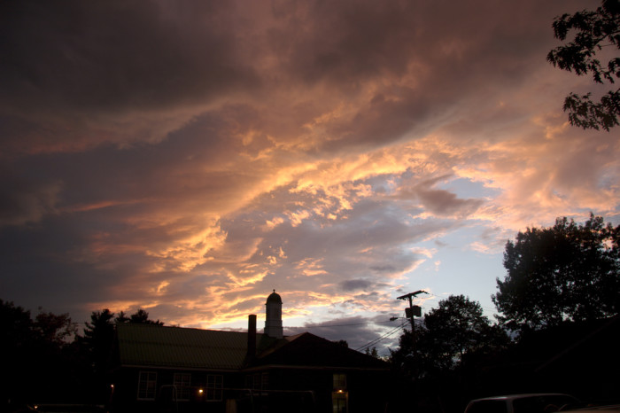 15. The sky over Hudson is simply breathtaking.