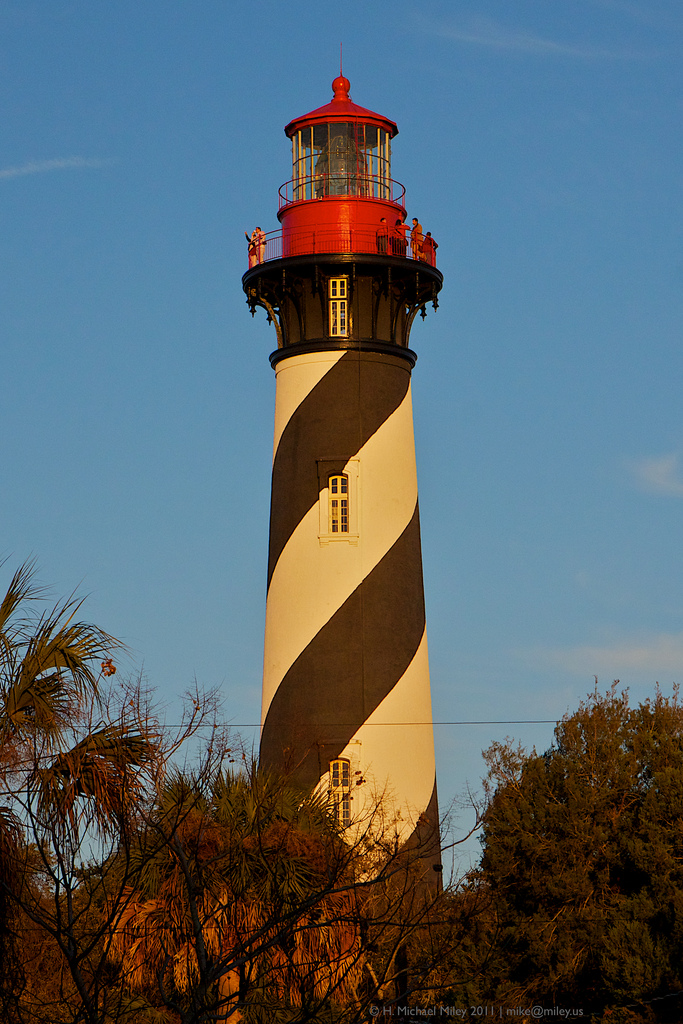 2. The tragedy of the St. Augustine lighthouse