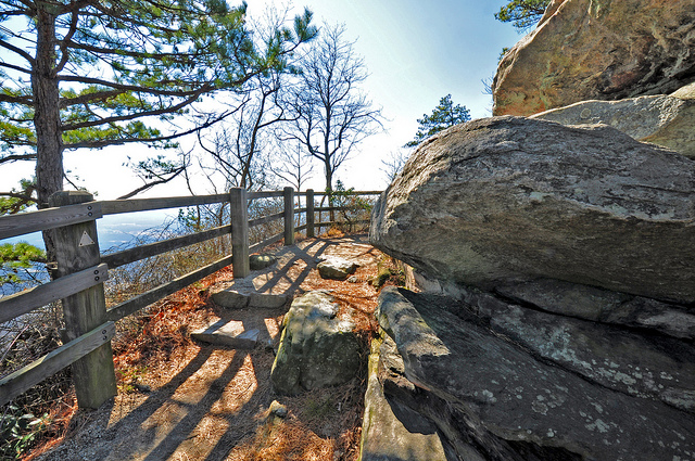 3. Jomeokee Trail, Pilot Mountain