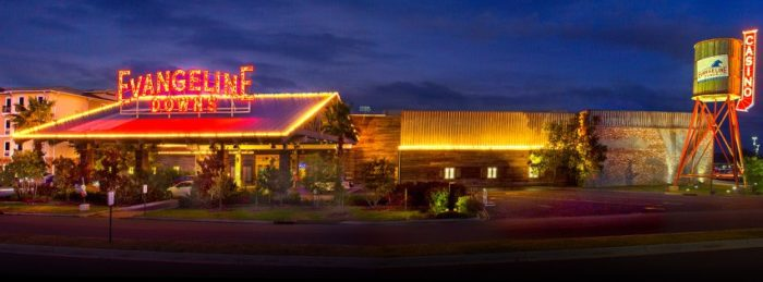 You can also easily pass a good time with food and music by visiting the Evangeline Downs Racetrack, Casino, and Event's center that is found in Opelousas.