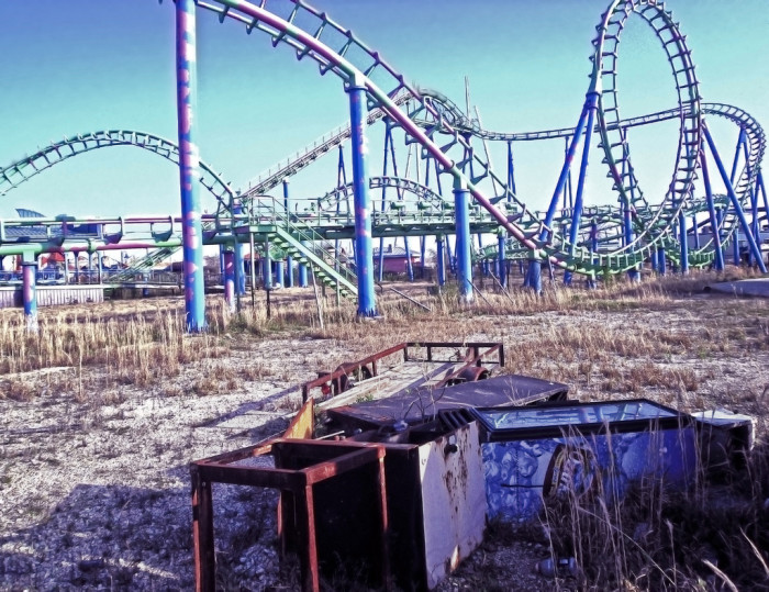 7. Abandoned Six Flags, Louisiana